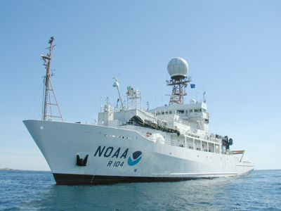 Image of NOAA's ship Atlantis