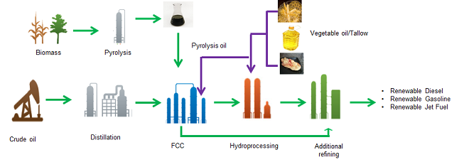 Co-processing flow diagram