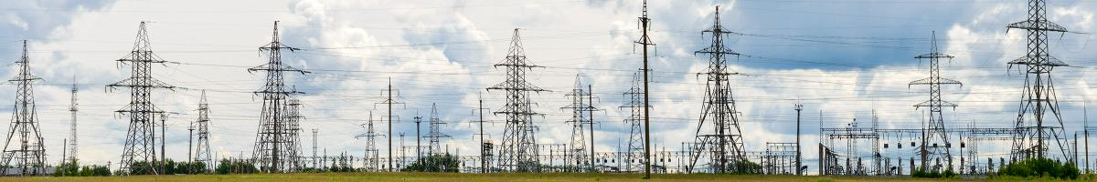 Photo of hight tension power lines