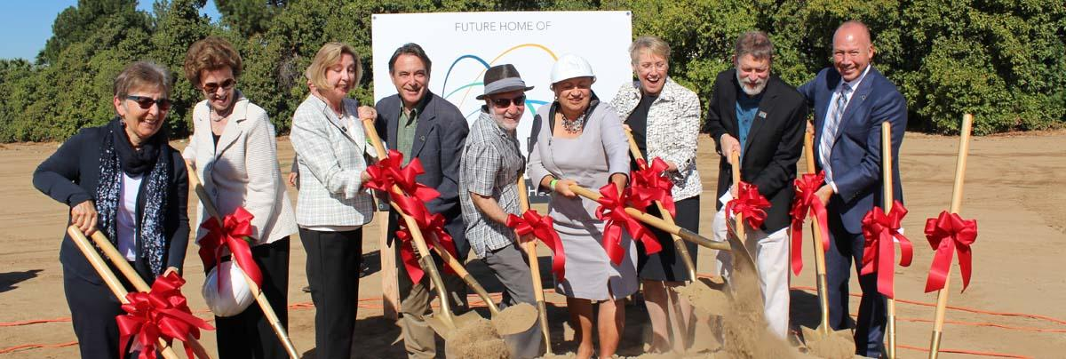 CARB Board So Cal Headquarters groundbreaking in riverside