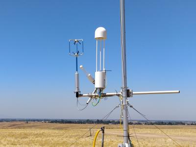 air monitoring tower