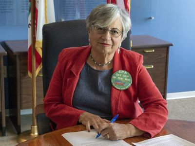 Mary D. Nichols signs US EPA SIP response